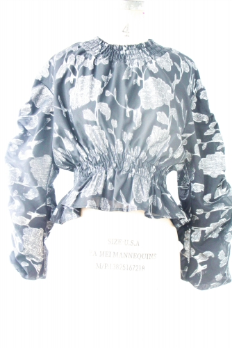 The silver testure top