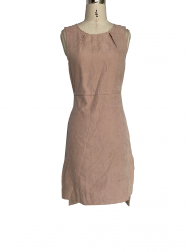 Stylish sleeveless dress with round neck